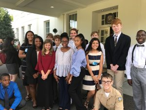 Richmond Area Students in Attendance as White House Announces $200M a Year for Computer Science Education
