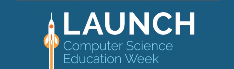 Virginia's Computer Science Education Week and Hour of Code launch event.