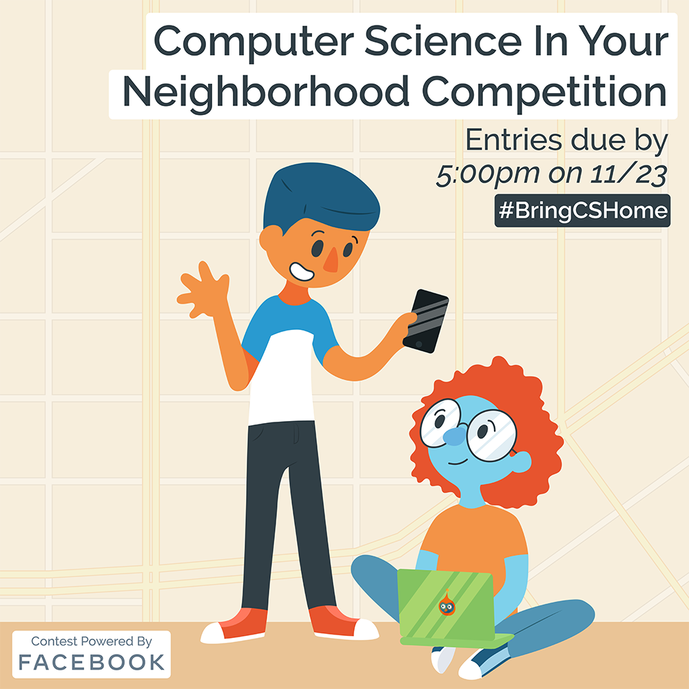 CS in your Neighborhood Competition Promotional Image
