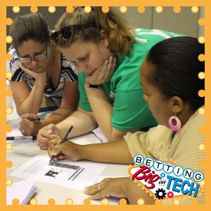 Educators working together