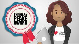 CodeVA Nominated for the 2021 Mary Peake Award!